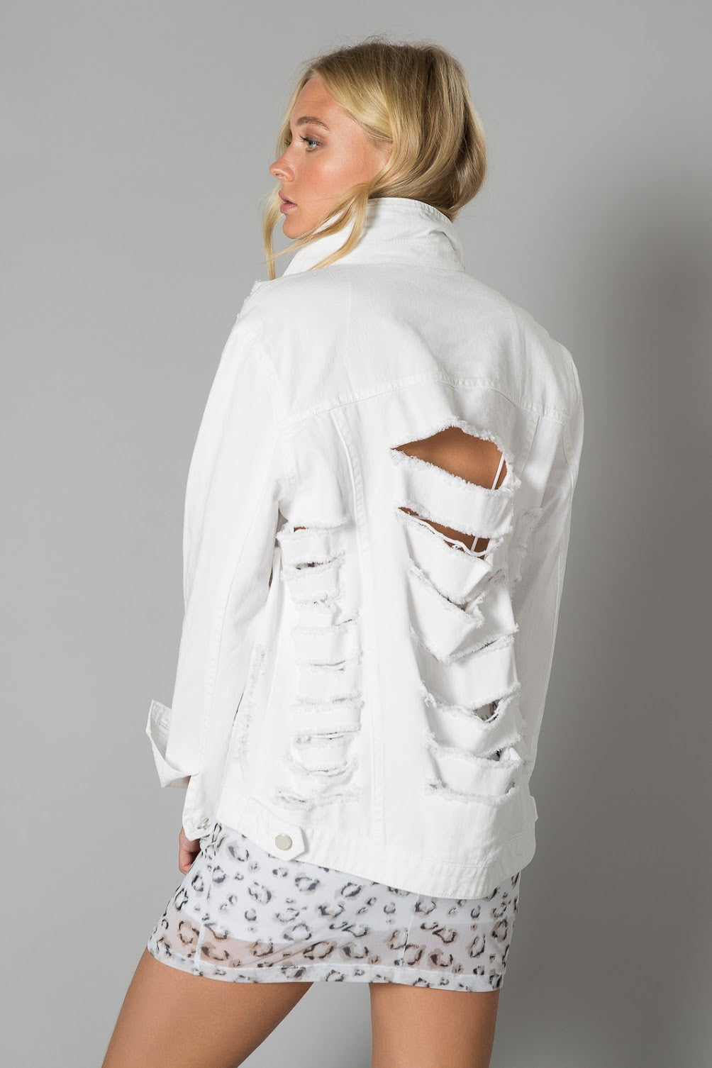 Emmett Destructed Trucker Jacket