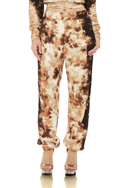 Costa Athletic Jogger - Neutral Tie Dye