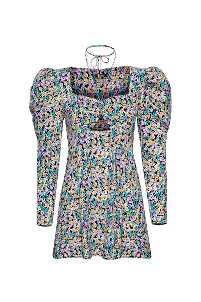 Zion Mini Dress - Multi Printemps