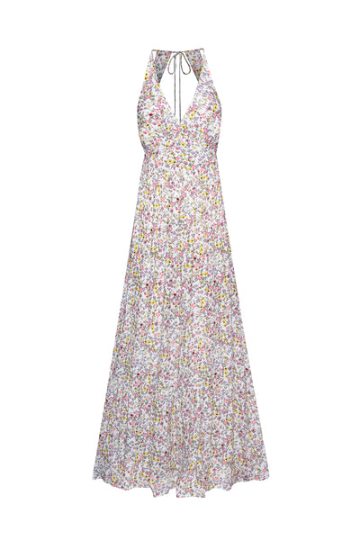 Vail Maxi Dress - Blanc Ditsy