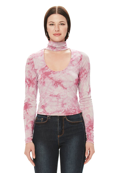 Angel Knit Top - Pink Swirl