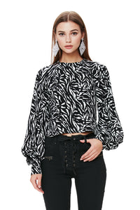 Olivia Exaggerated Sleeve Top