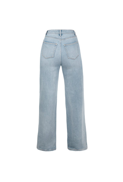 Luz Wide Leg Denim - Sunland Wash