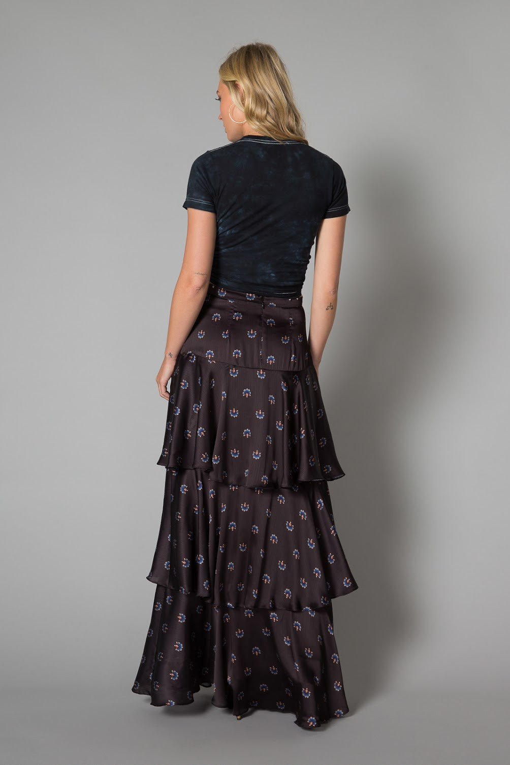 Layla Tiered Maxi Skirt