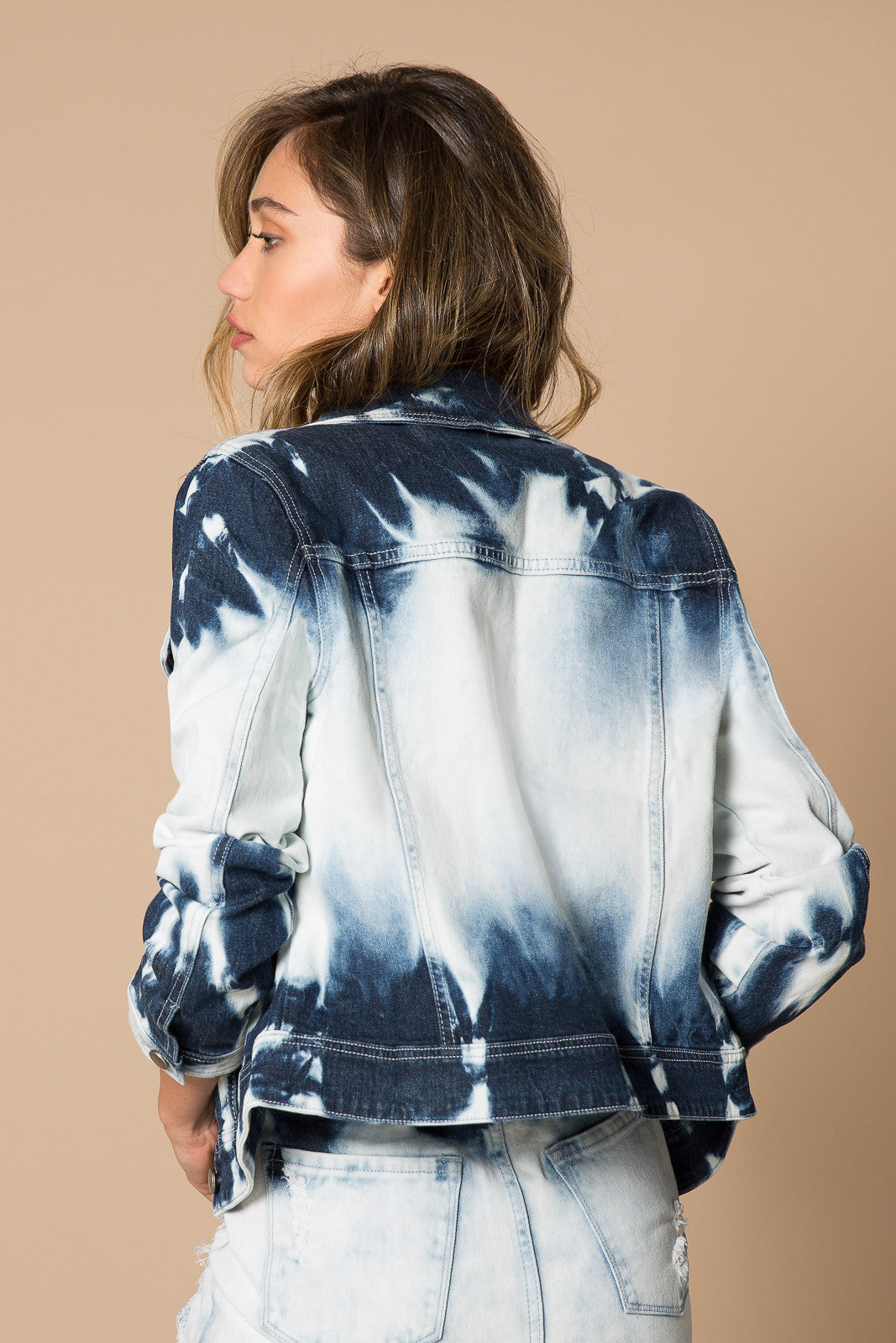 Delilah Bleached Denim Jacket