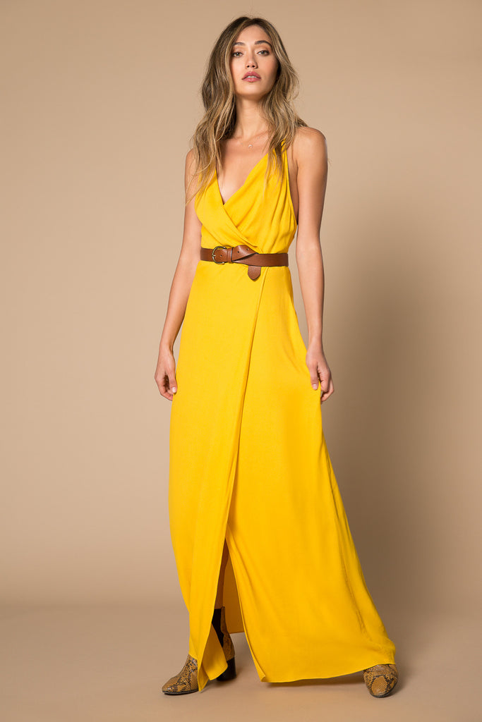 Kinsely Maxi Wrap Dress