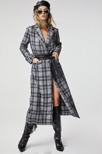 Grey Plaid