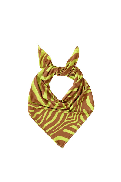 The Essential Bandana -  Abstract Zebra