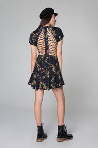 Chelsea Lattice Back Dress