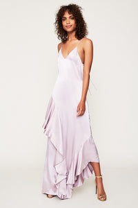 Florence Ruffle Maxi Dress
