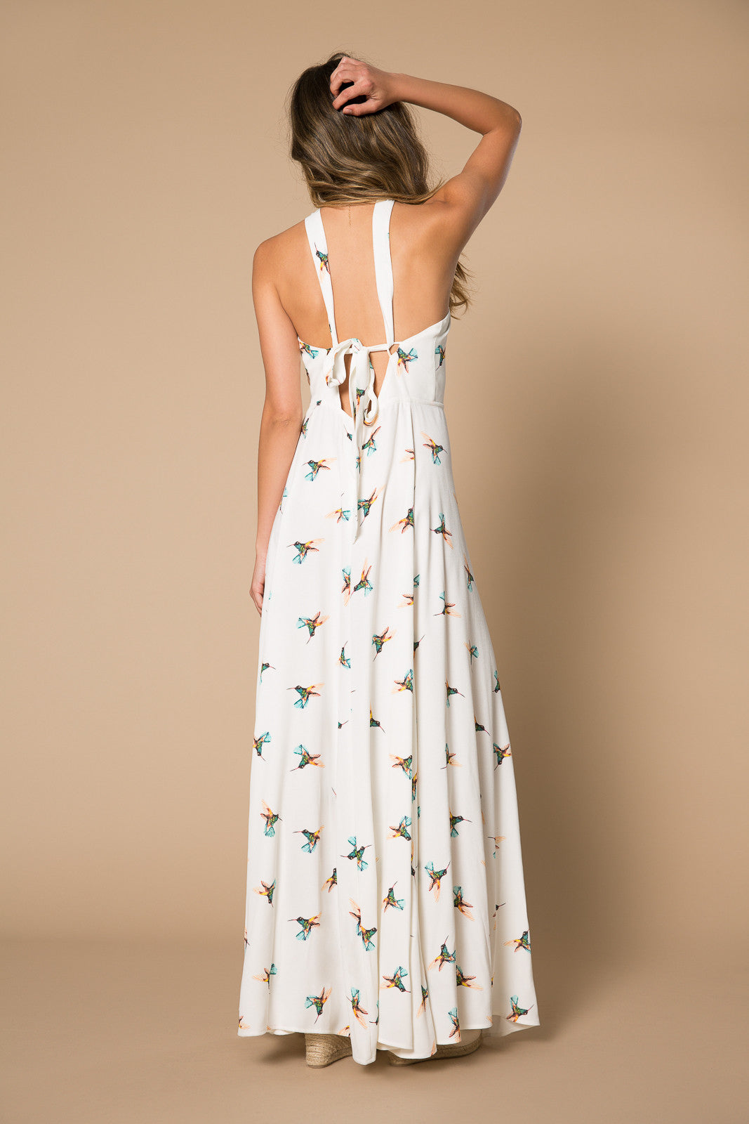 Harlean Halter Maxi Dress