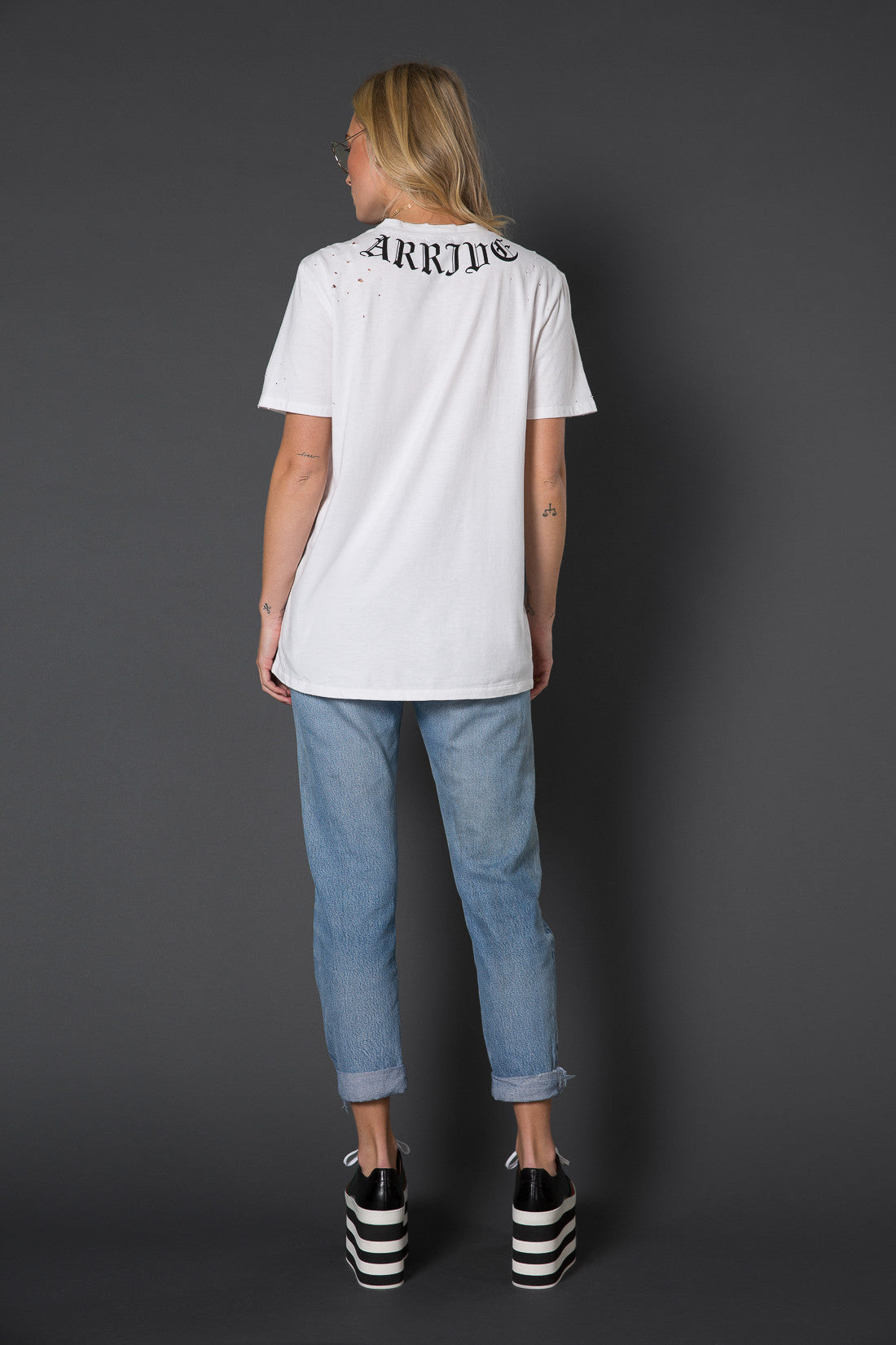 Kingston Distressed Tee