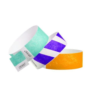 "Tyvek 1"" Wristbands - The Wristband Man"