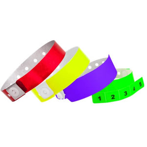 Vinyl Wristbands - The Wristband Man