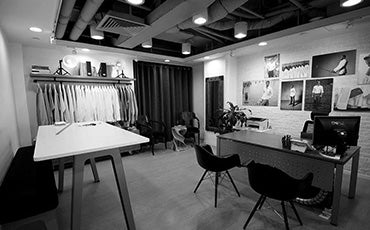 MILK Shirts Showroom in Hong Kong