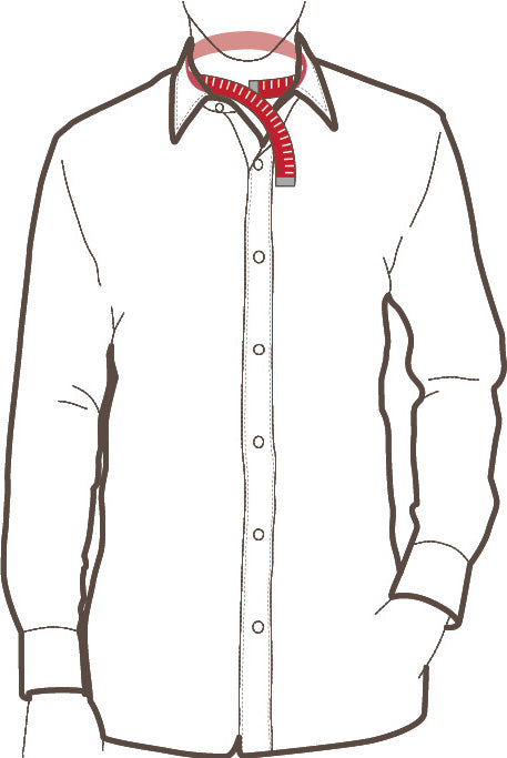 How to Measure Neck Size for Custom Made-to-Measure Men's Dress Shirt
