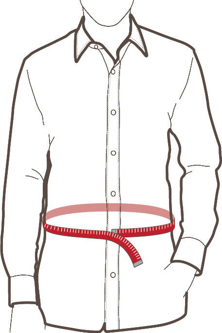 How to Measure Stomach or Waist Size for Custom Made-to-Measure Men