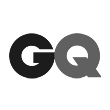 GQ Black and White Logo