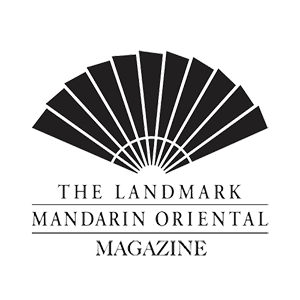 Black and White Landmark Mandarin Oriental Magazine Logo