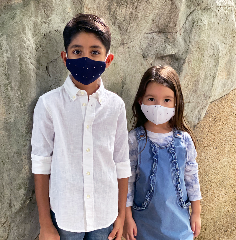 KID'S REUSABLE COTTON FACE MASK