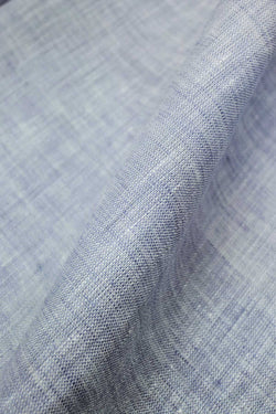 Portofino Light Blue Linen Fabric