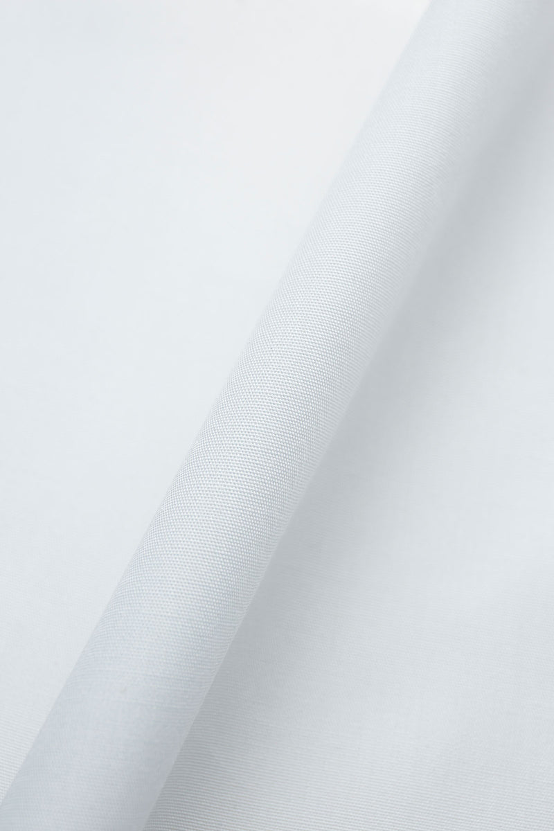 Alps Wrinkle Free White Poplin Shirt