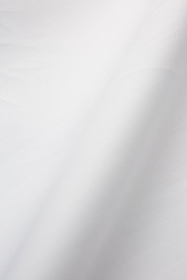 Calilo 100s White Poplin Fabric