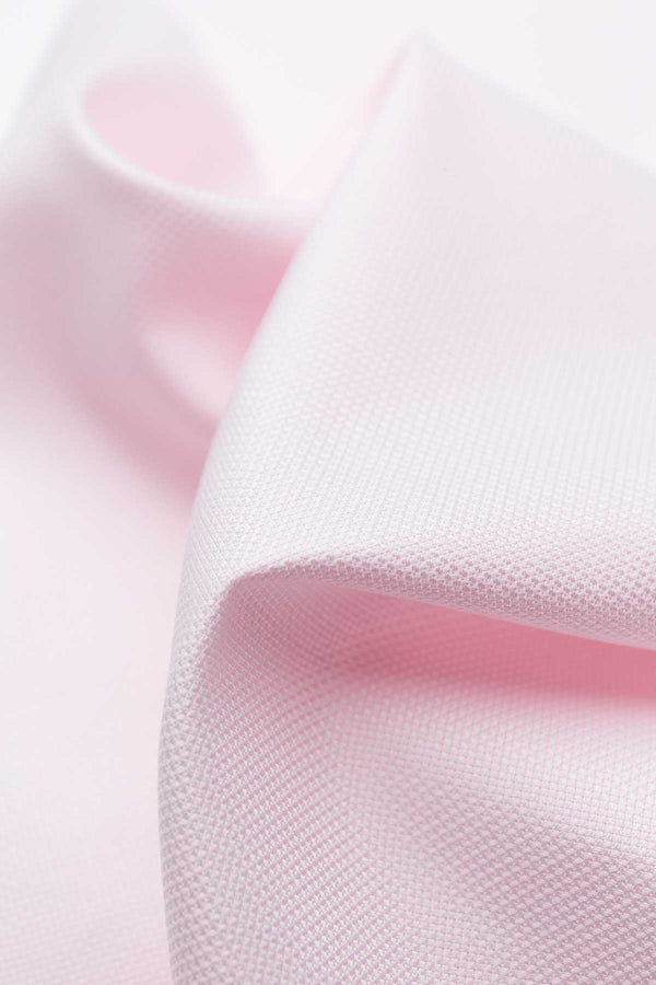 Fleur 100s Pink Royal Oxford Fabric