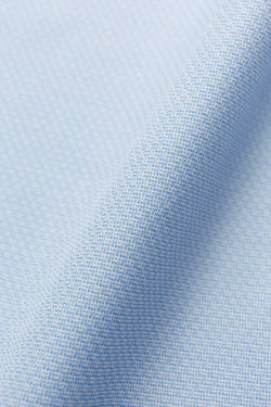 Jardin 100s Textured Light Blue Twill Fabric