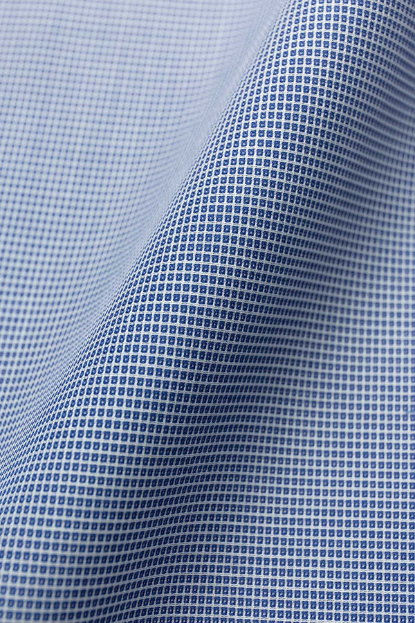 Orion 80s Mid Blue Cotton Fabric
