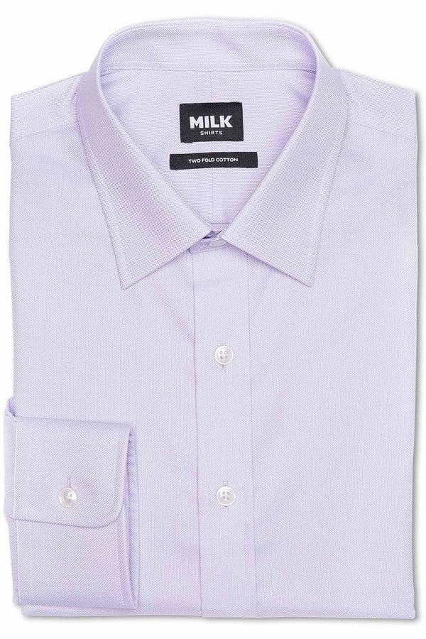 Queen 100's Purple Royal Oxford Shirt