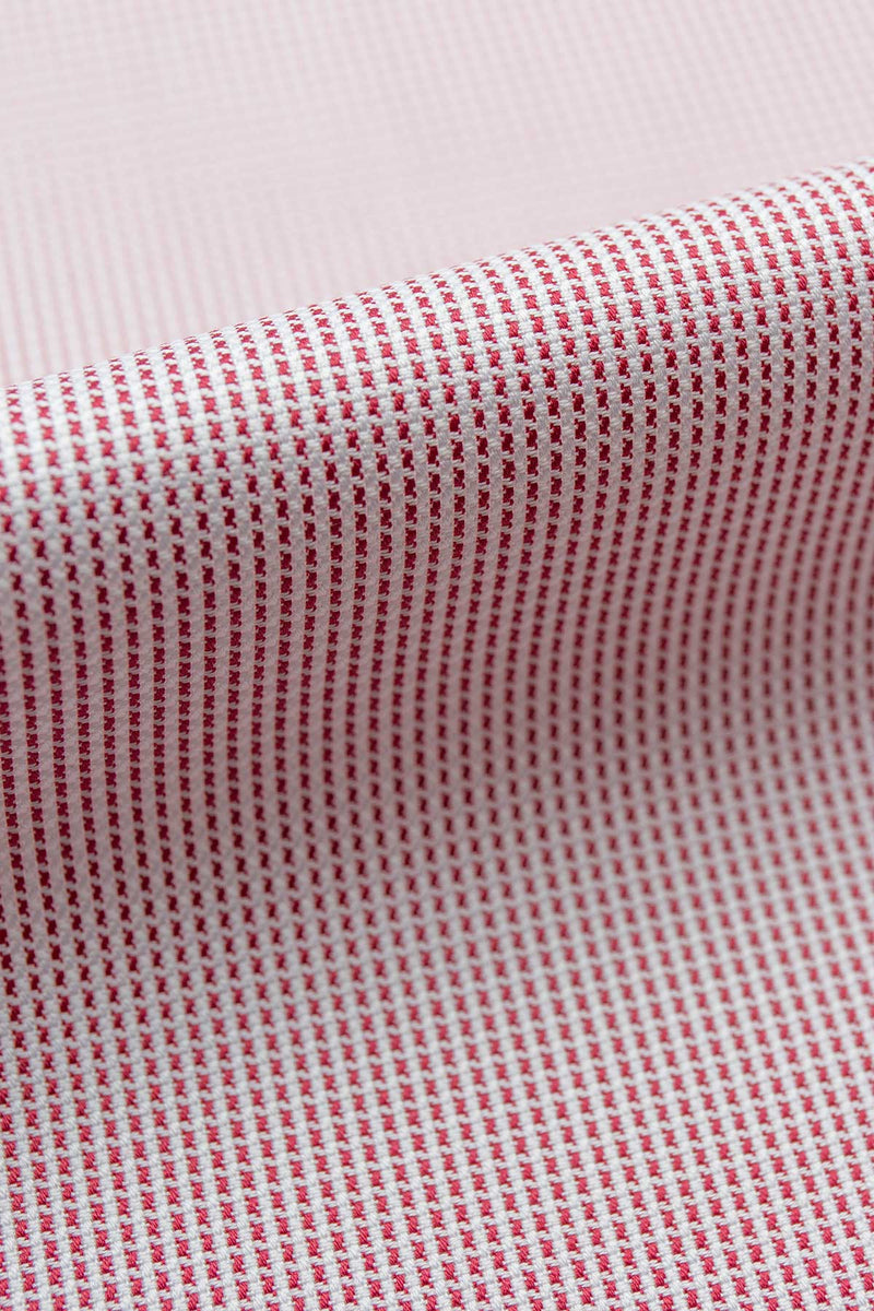Scala 80s Red Textured Cotton Fabric