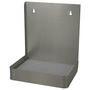 "12"" Stainless Steel Wall Mount, w/ Drain Tray"