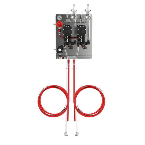 2 Pressure PRO-MAX Beer Pump Secondary Panel Kit