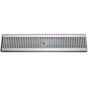 "24"" Stainless Steel Surface Mount Drain Tray, w/ Drain"