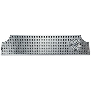 "28"" Stainless Steel Surface Mount w/ Glass Rinser"