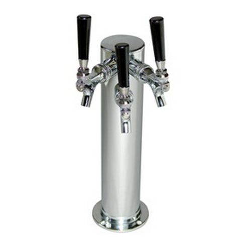 3 Tap column type beer tower, Air-cooled