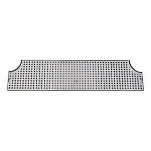 "34"" Stainless Steel Surface Mount Drain Tray w/ Drain"