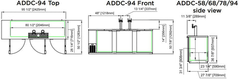 ADDC-94 Direct Draw Beer Dispenser