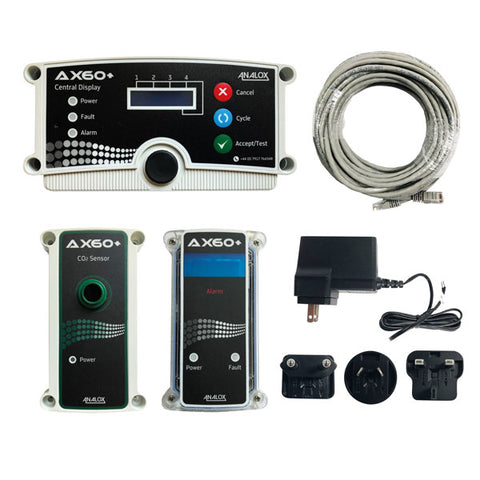 Image of Analox Ax60+ CO2 Leak Safety Monitor
