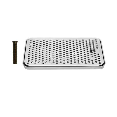 Drip Tray 12 Inch Surface Mount, Counter Top, Stainless Steel