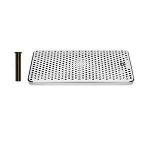 Drip Tray 16 Inch Surface Mount, Counter Top, Stainless Steel