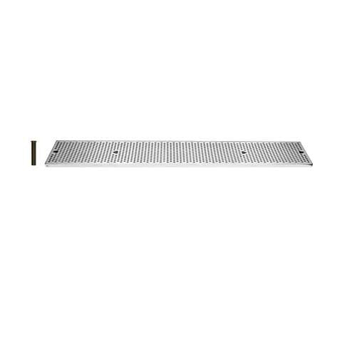 Drip Tray 45 Inch Surface Mount, Counter Top, Stainless Steel