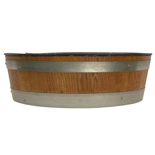 Solid Oak Barrel Head