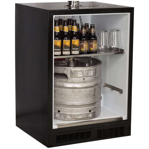 Marvel Indoor Built-In Kegerator, Single Tap, Overlay (Panel Ready)