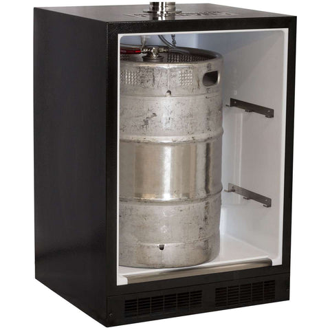 Marvel Indoor Built-In Kegerator, Dual Tap, Overlay (Panel Ready)
