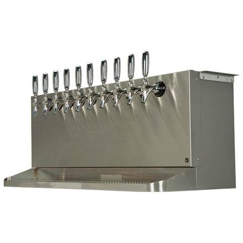 Image of Under Bar Dispensing Cabinet - Glycol Cooled - 10 304 Faucets