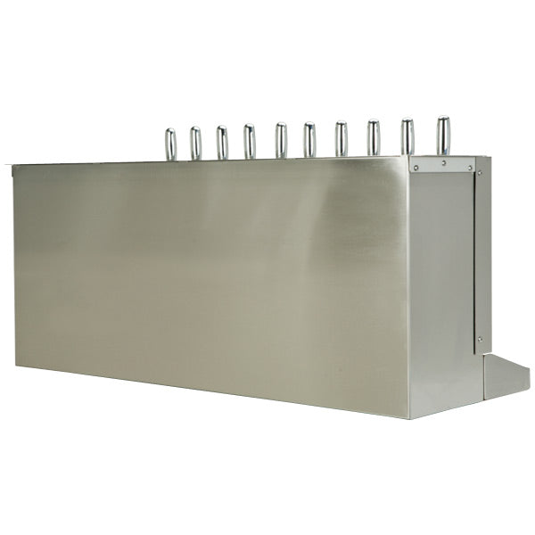 Under Bar Dispensing Cabinet - Glycol Cooled - 10 304 Faucets