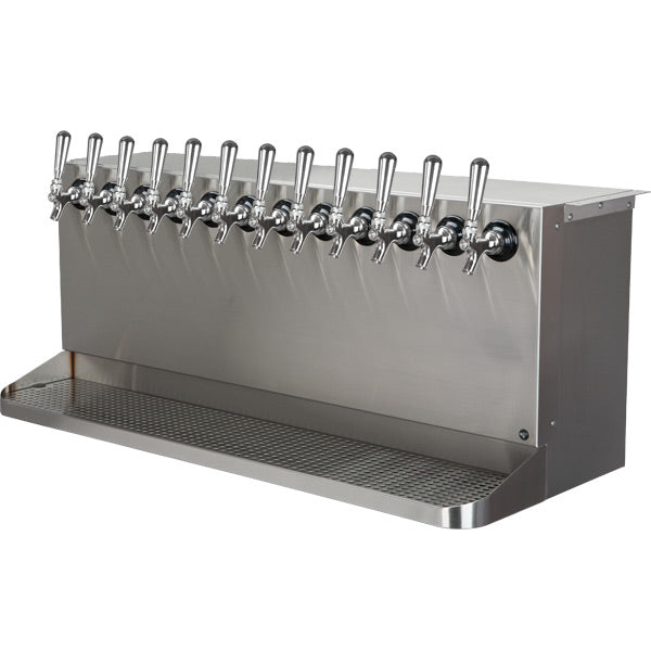 Under Bar Dispensing Cabinet - Glycol Cooled - 12 304 Faucets