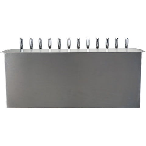 Image of Under Bar Dispensing Cabinet - Glycol Cooled - 12 304 Faucets